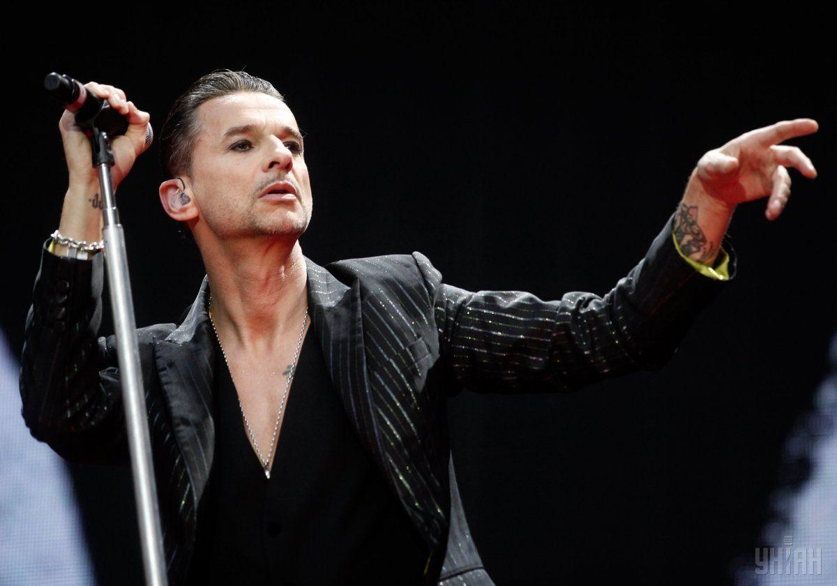 Depeche Mode скасували концерт у Мінську через хворобу Гаана / фото УНІАН