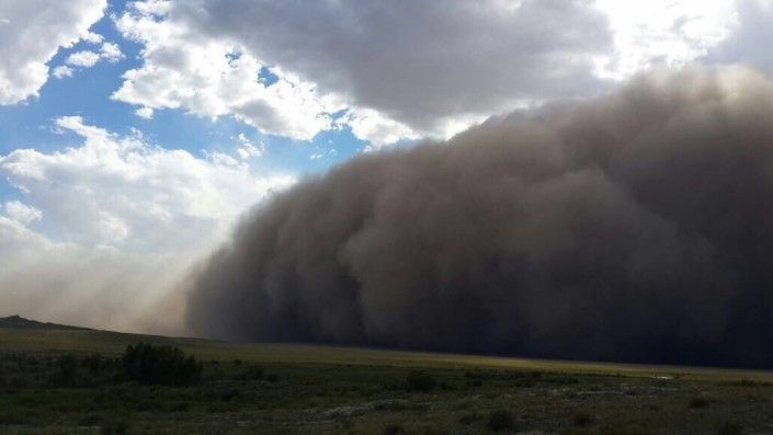 Буря в Казахстані / tengrinews.kz