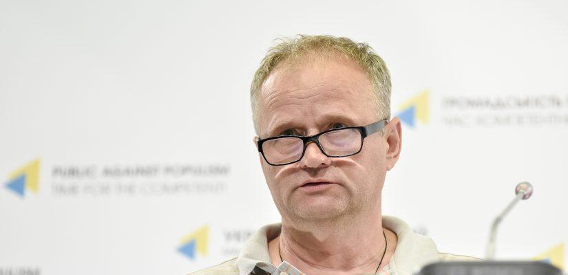 Сергей Кодьман, отец пленного Алексея Кодьмана / фото uacrisis.org