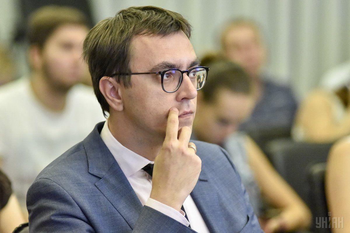 Омелян отримав припис від НАПК з-за конфлікту інтересів у підлеглого / фото УНІАН