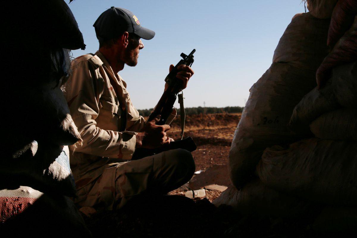 86fa29ae232769 Сирійська армія та союзні їй бійці радикального шиїтського угруповання