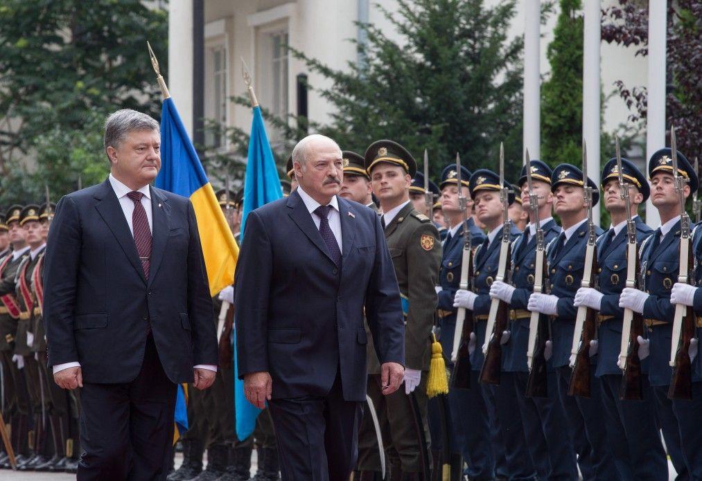 Лукашенко прибыл в Киев / фото president.gov.ua