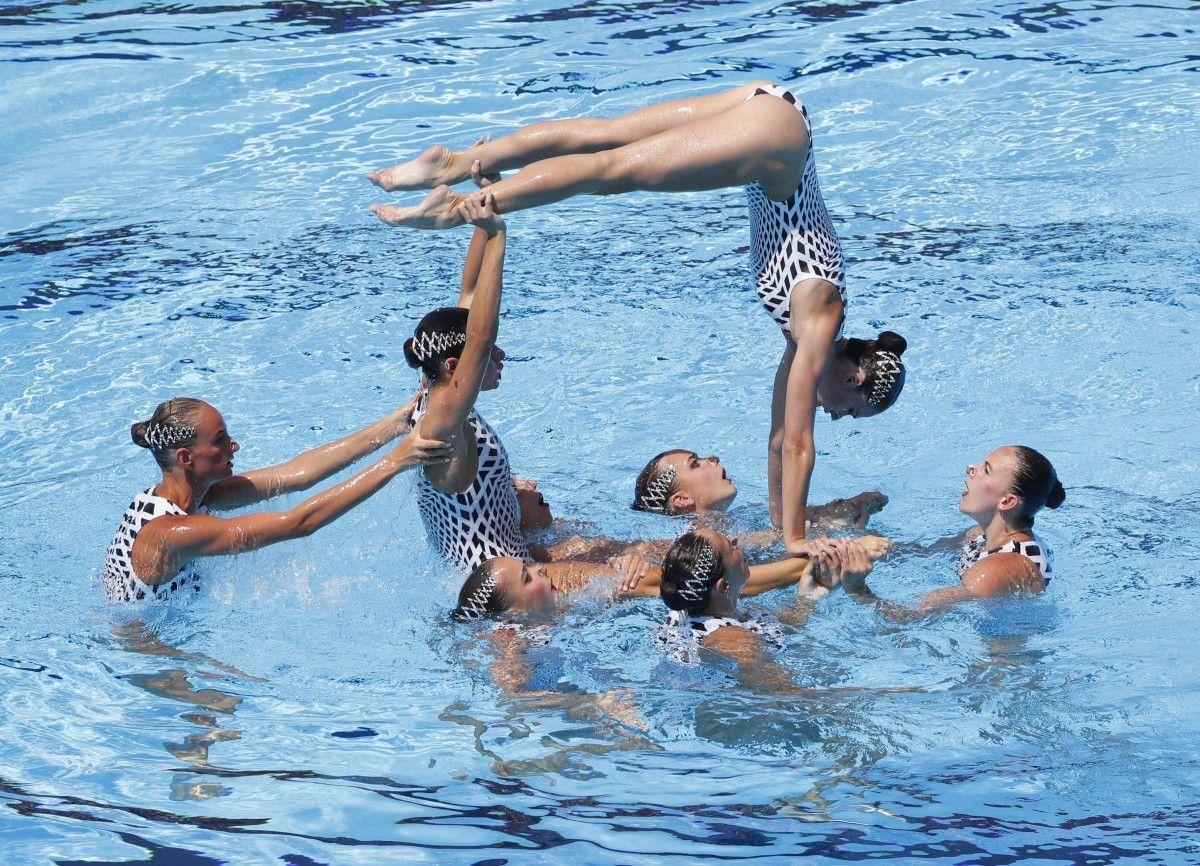 Украинки завоевали еще одну медаль Чемпионата мира в синхронном плавании / Reuters