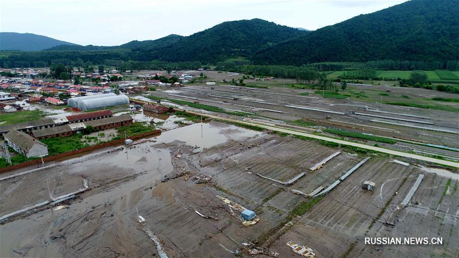 Северо-восток Китая пострадал от наводнения / Xinhua