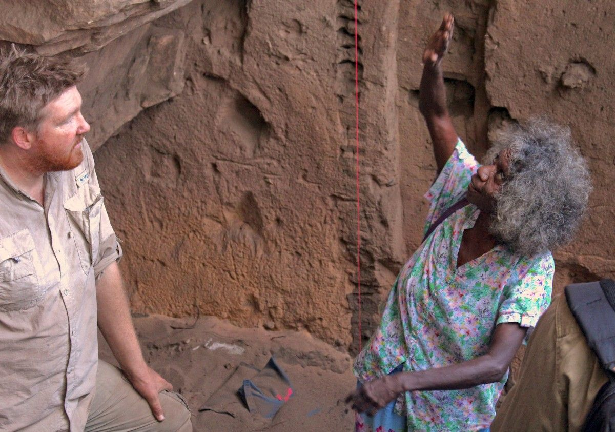 Вчені: перші люди в Австралії застали гігантських вомбата та варана