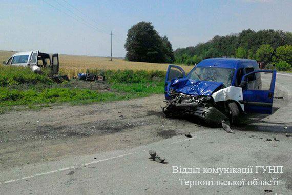 Усі учасники автопригоди звернулися за допомогою до лікарні / Поліція Тернопільскої області