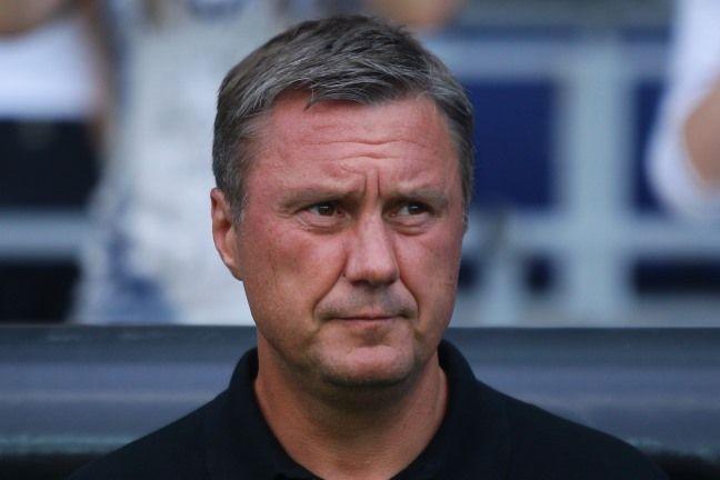 Хацкевич залишився незадоволений суддівством в останні 15 хвилин матчу / fcdynamo.kiev.ua