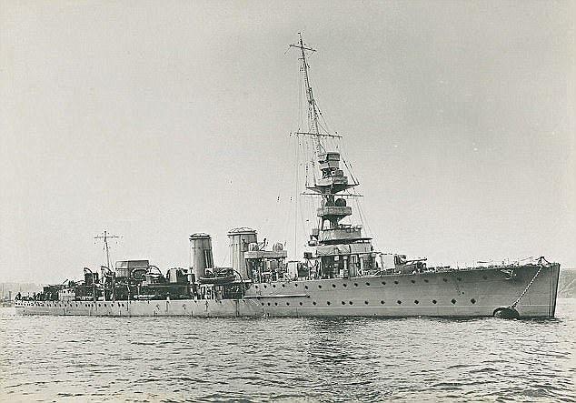 Корабль SS Minden начал свой путь из Бразилии 6 сентября 1939 г. / фото dailymail.co.ru