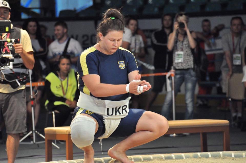 Українка Іванна Березовська завоювала срібло Всесвітніх Ігор у змаганнях з сумо