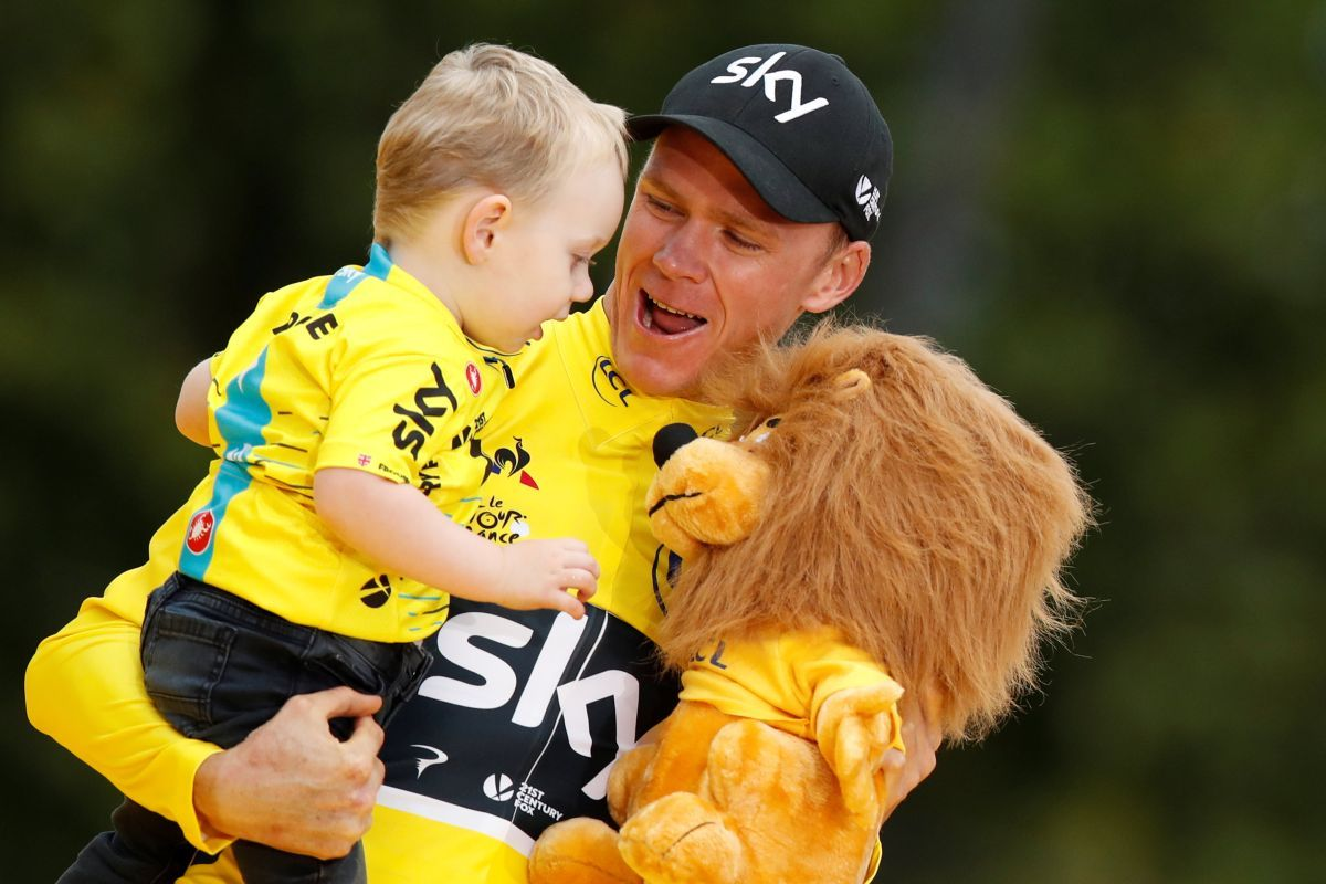 Британець Кріс Фрум учетверте виграв Tour de France