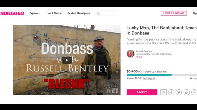 Russel Bentley / IndieGoGo
