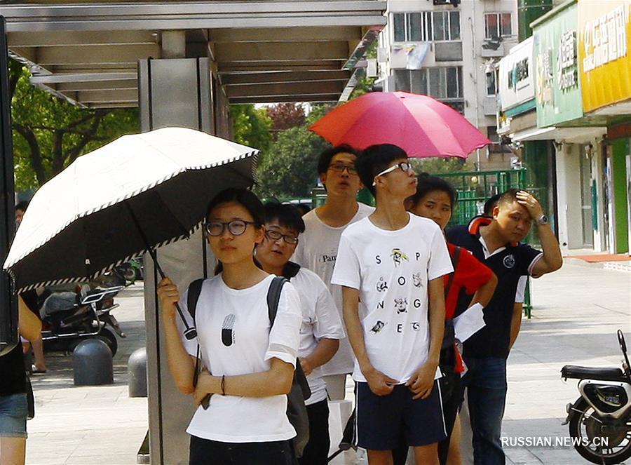 У Шанхаї встановилася небувала спека / Xinhua