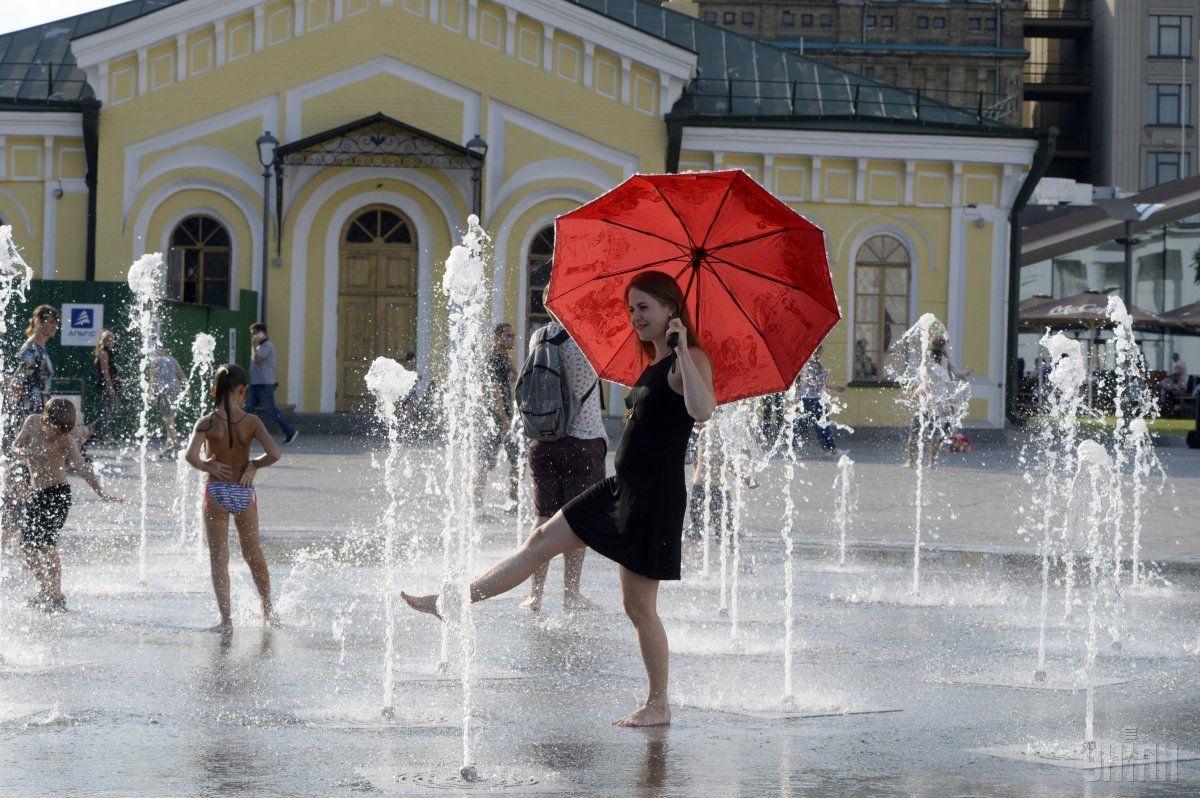 На выходных бует жарко / УНИАН
