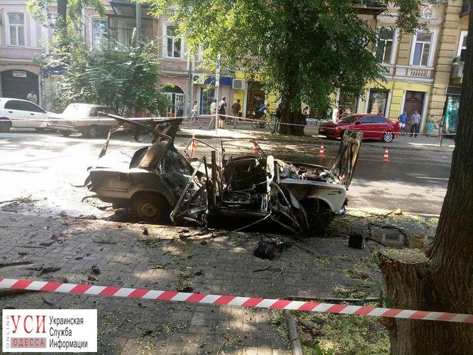 Снова взрыв вгосударстве Украина - вОдессе взлетел навоздух автомобиль