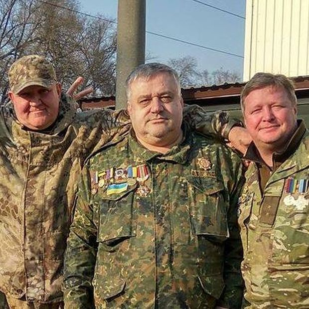 Edmond Saakian (in the center) / Photo from vesti-ukr.com