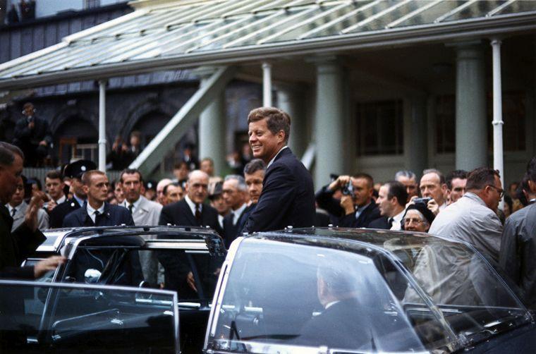 35-й президент США Джон Кеннеди / фото wikipedia.org