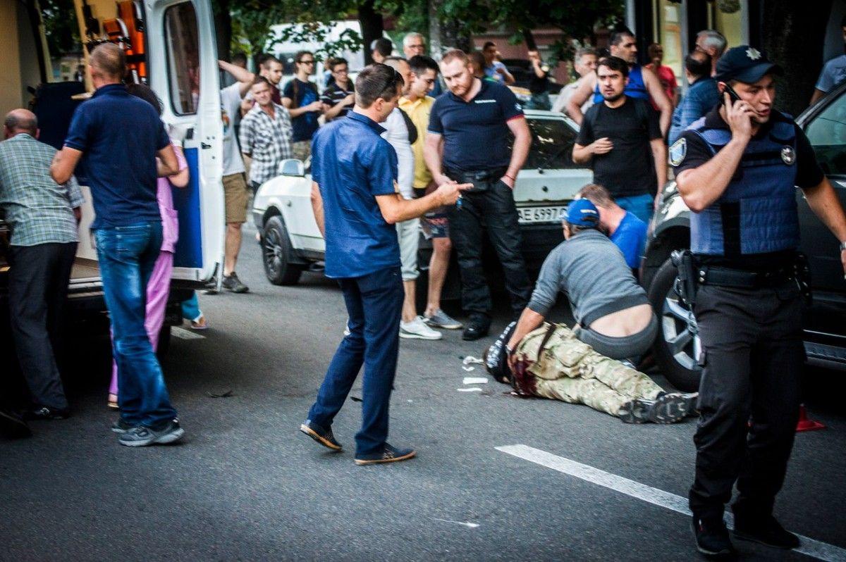 В результате перестрелки погибли двое бойцов АТО / фото informator.dp.ua