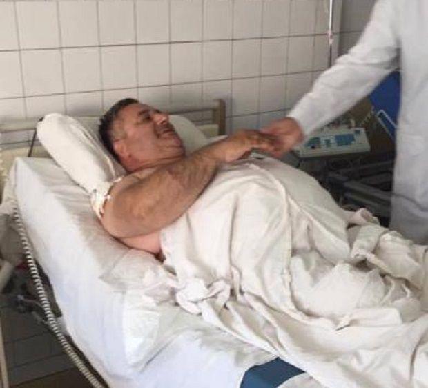 Саакян находится в больнице / фото dniprograd.org
