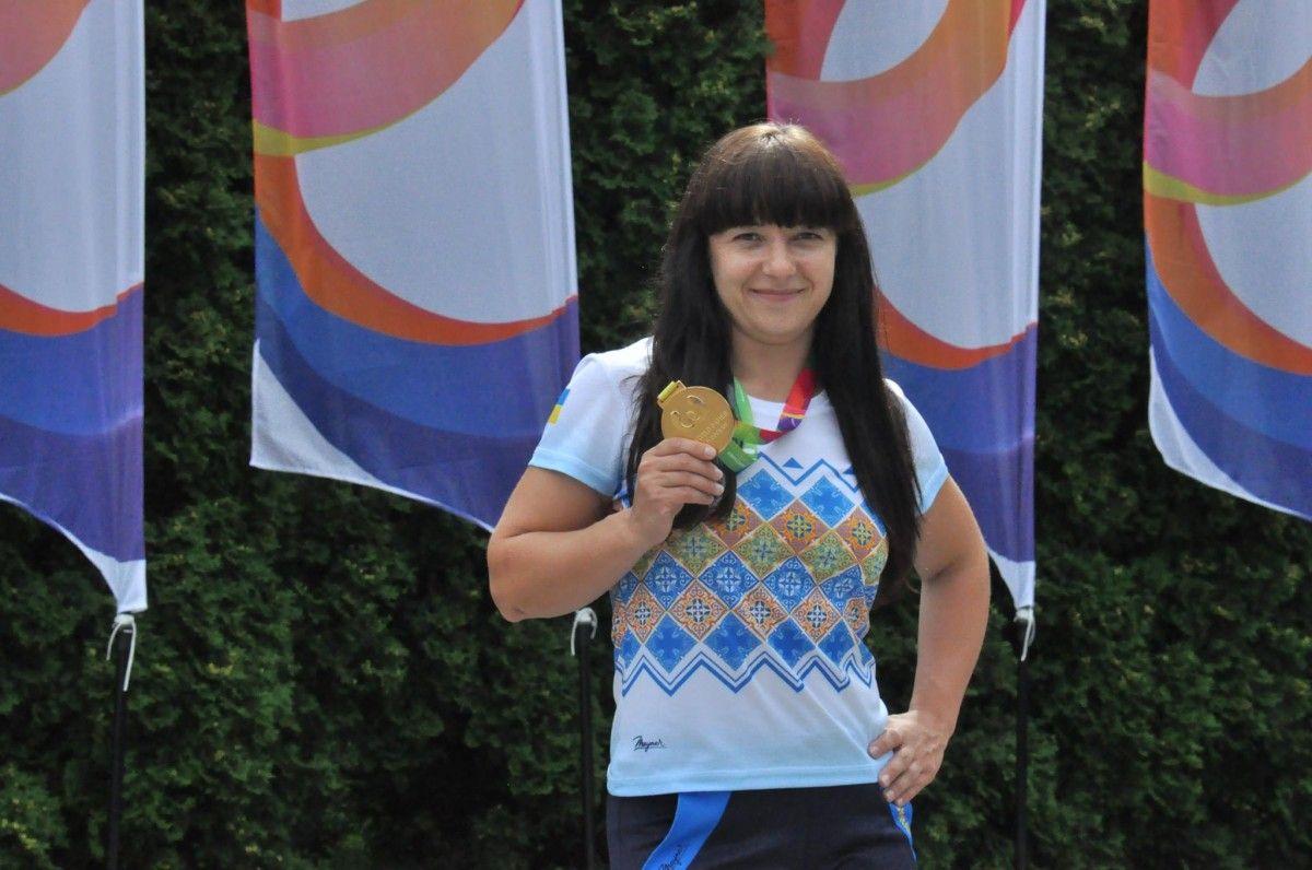 Наталья Гемперле завоевала еще одну медаль