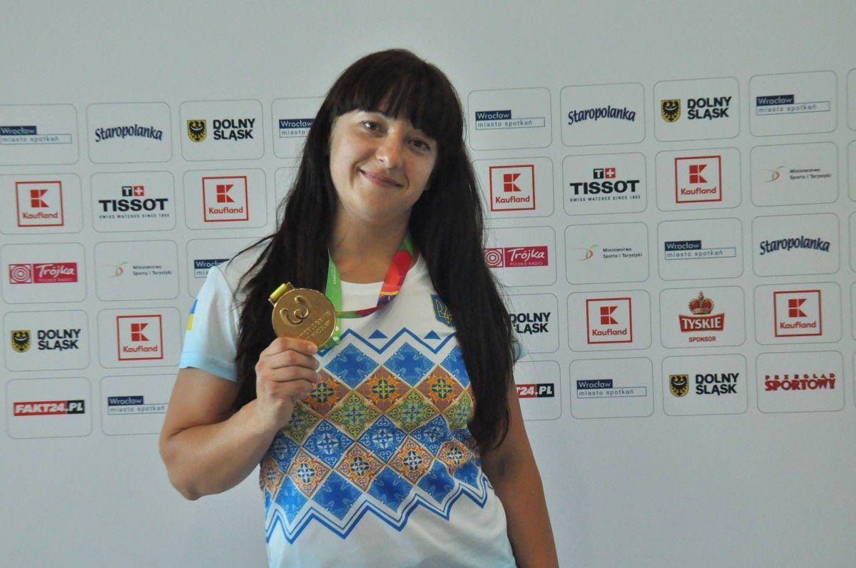 Пауэрлифтеры пополнили копилку сборной государства Украины наХВсемирных играх
