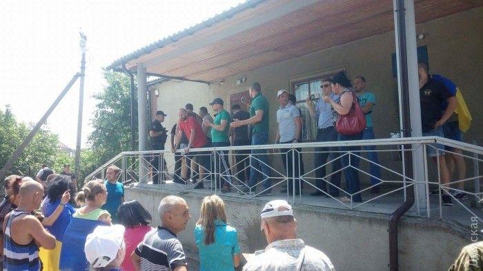 Полиции пришлось применить силу и спецсредства в отношении активистов / Думская