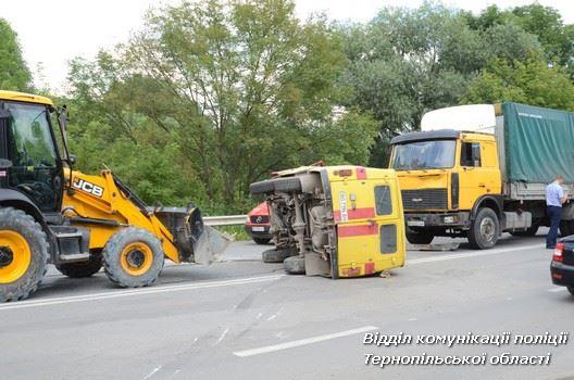 ДТП сталося близько 16 години / поліція Тернопільщини