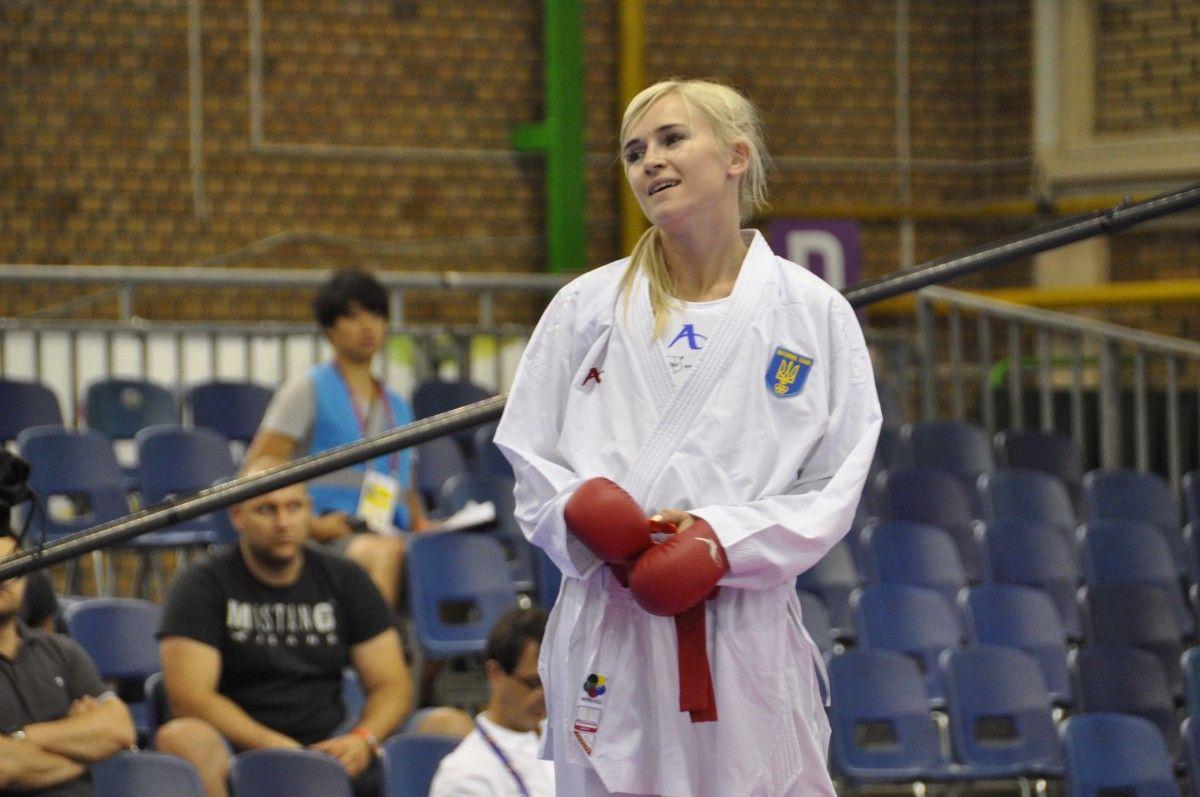 Чемпіонка Європи Аніта Серьогіна завоювала срібло на Всесвітніх Іграх у змаганнях з карате