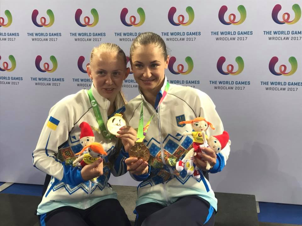 Збірна України виграла шосте золото Всесвітніх Ігор - у стрибках на батуті