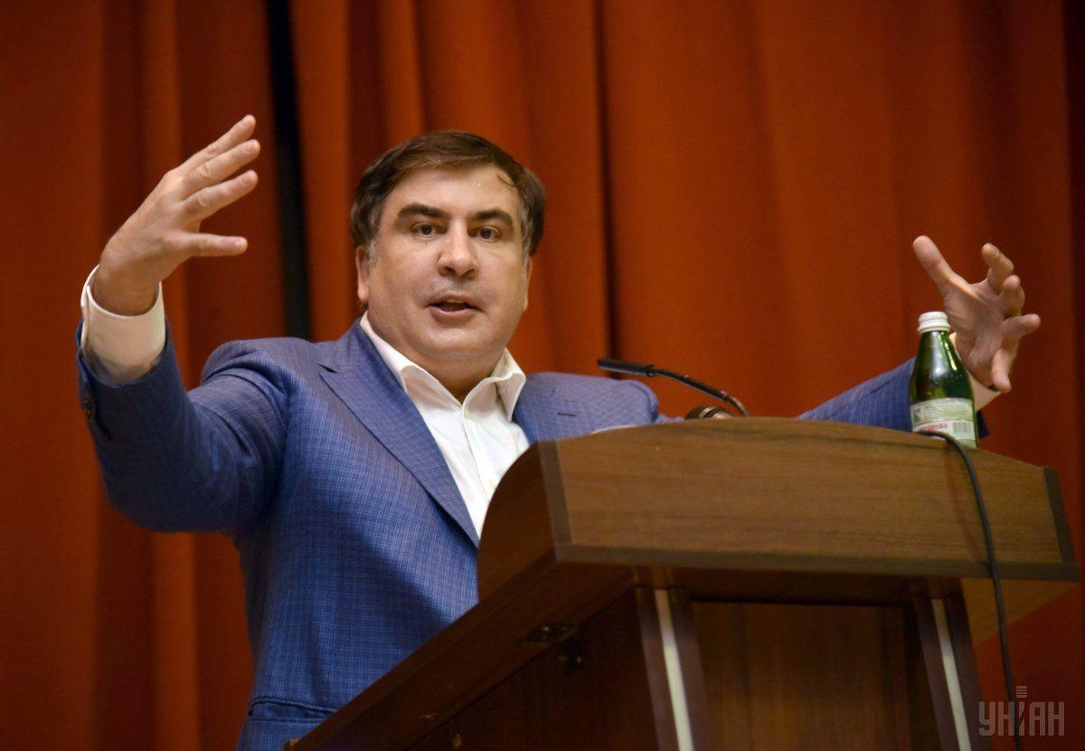 Саакашвили говорит, что не конфликтует с Аваковым / фото УНИАН