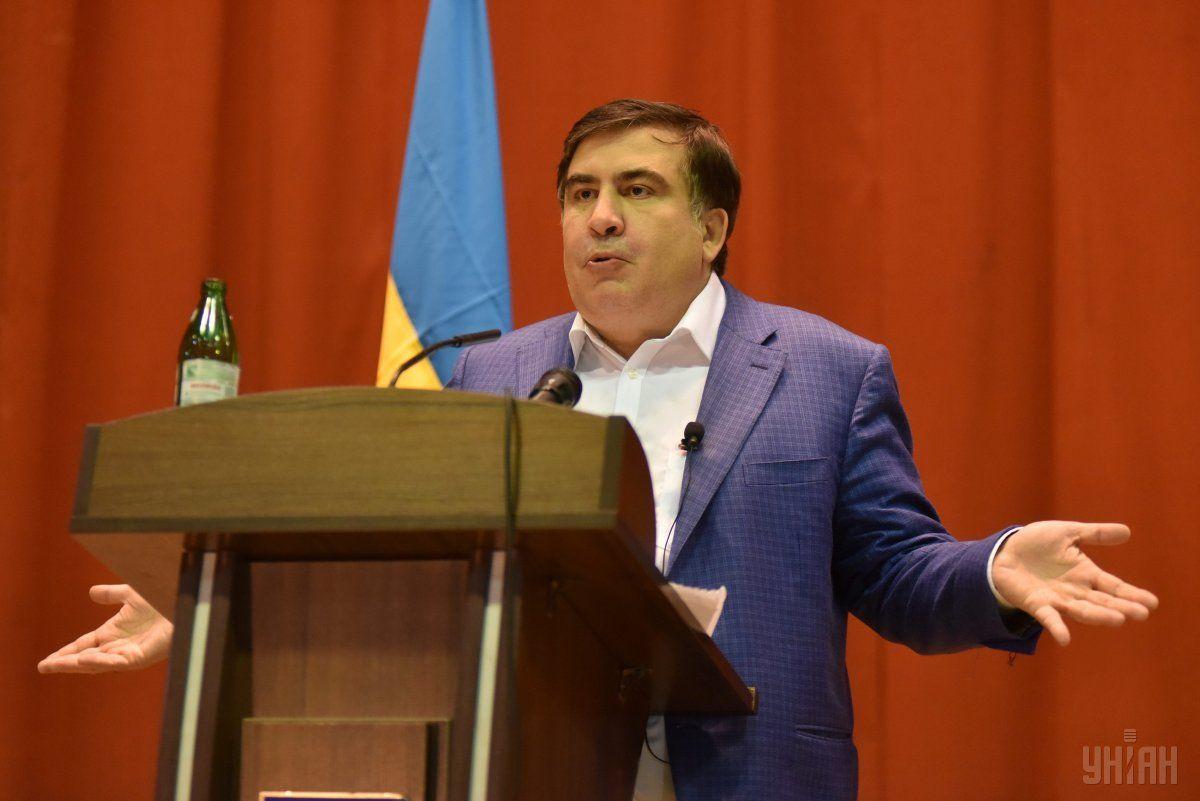 Саакашвили утверждает, что имеет только одно гражданство - украинское / фото УНИАН