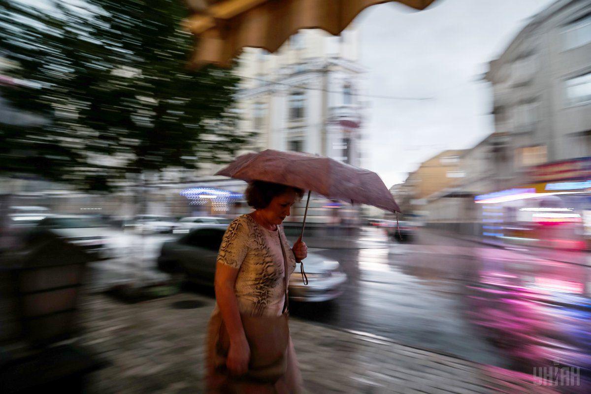 В Києві цілий день йтиме дощ / УНІАН
