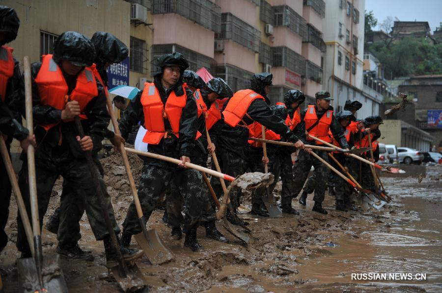 Повені в Китаї / Xinhua