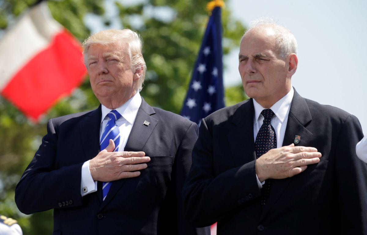 Дональд Трамп і Джон Келлі / REUTERS