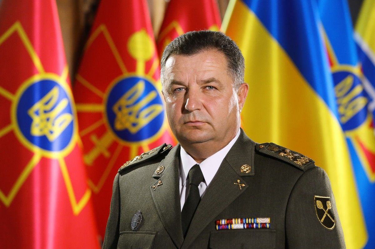 Ukraine's Defense Minister Stepan Poltorak / Photo from Defense Ministry