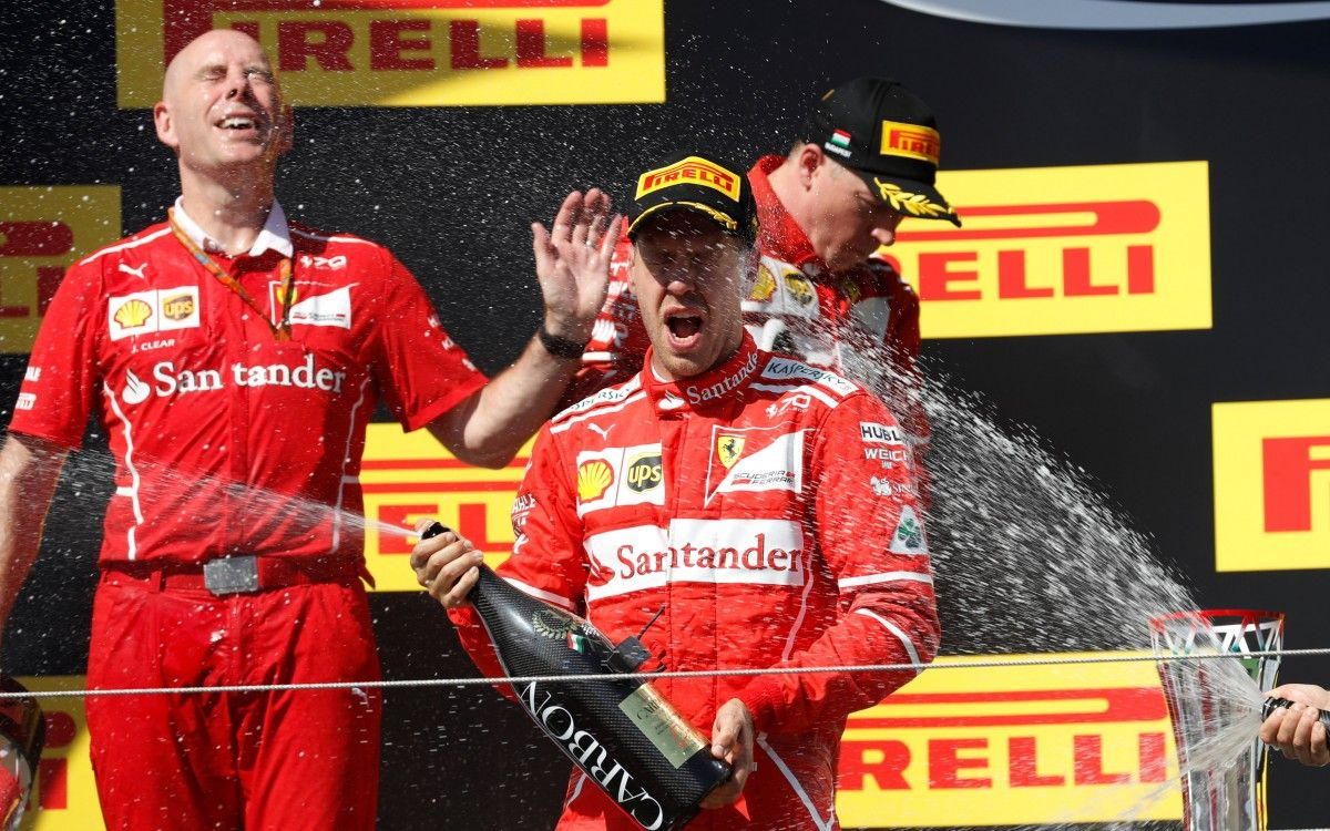 Себастьян Феттель выиграл Гран-При Венгрии / Reuters