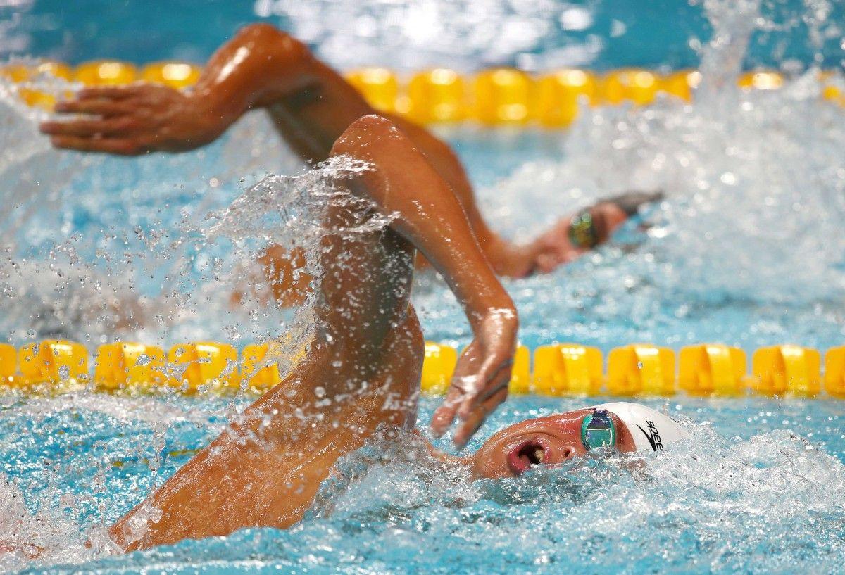Чемпіонат світу зплавання: Михайло Романчук виборов «срібло» на1500м