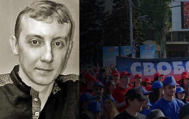 Aseyev in Donbas captivity for more than two years / Image from Chornomorska TRC