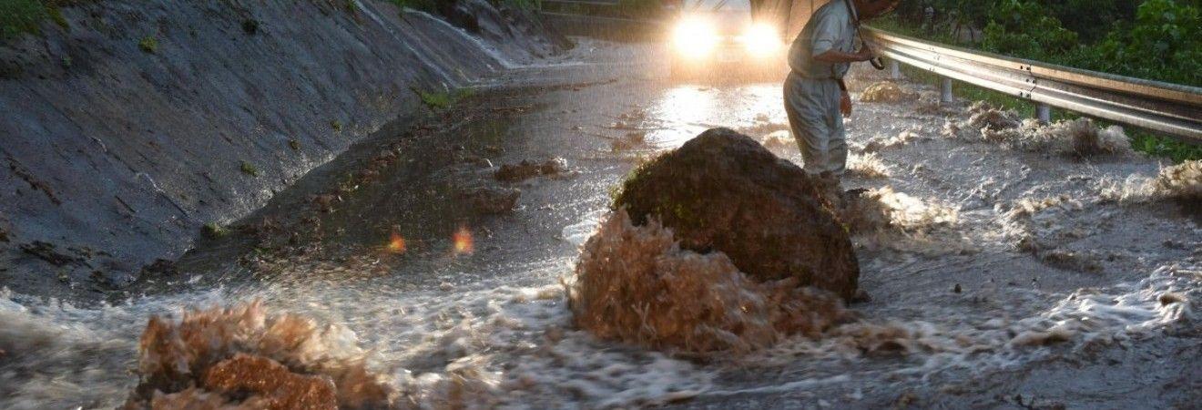 Число жертв наводнения в Японии выросло до 34 человек