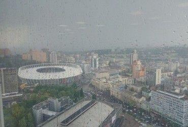В Киеве и Киевской области объявили штормовое предупреждение