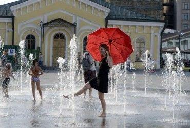 В Киеве сегодня без осадков, днем жара до +32°
