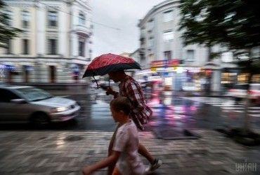 У Києві сьогодні пройде дощ з грозою, температура вдень до +22°
