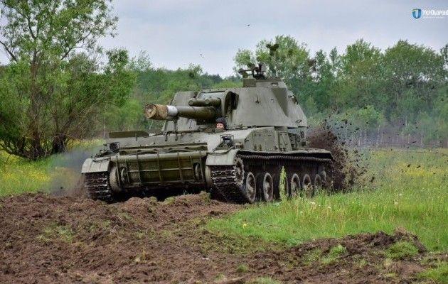 ВУкраинском государстве показали, как стреляют «Акация» и«Гвоздика»: появилось яркое видео