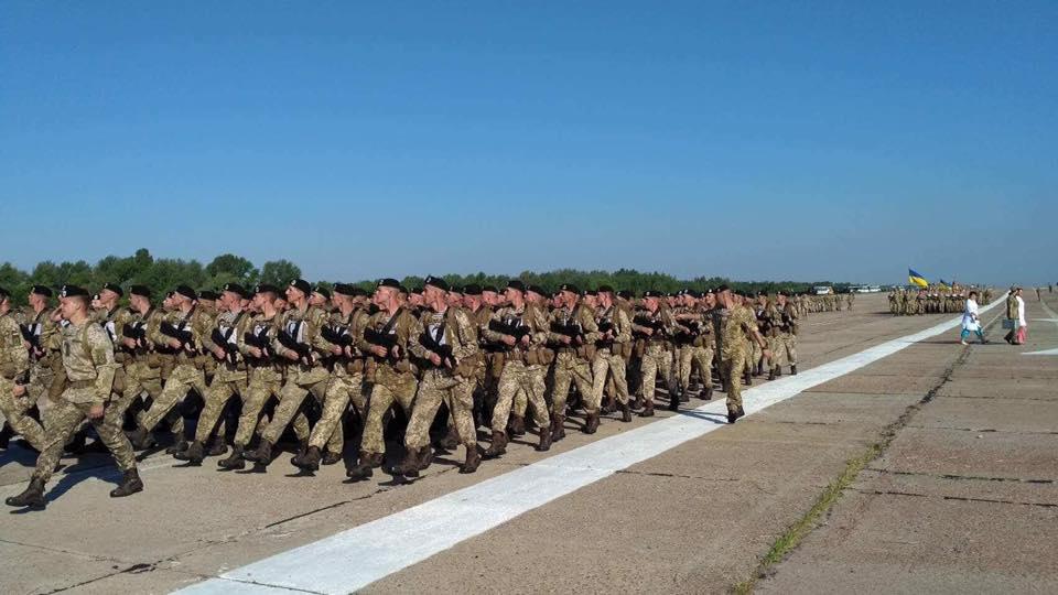 Українські військові проводять чергову репетицію параду до Дня незалежності / navy.mil.gov.ua