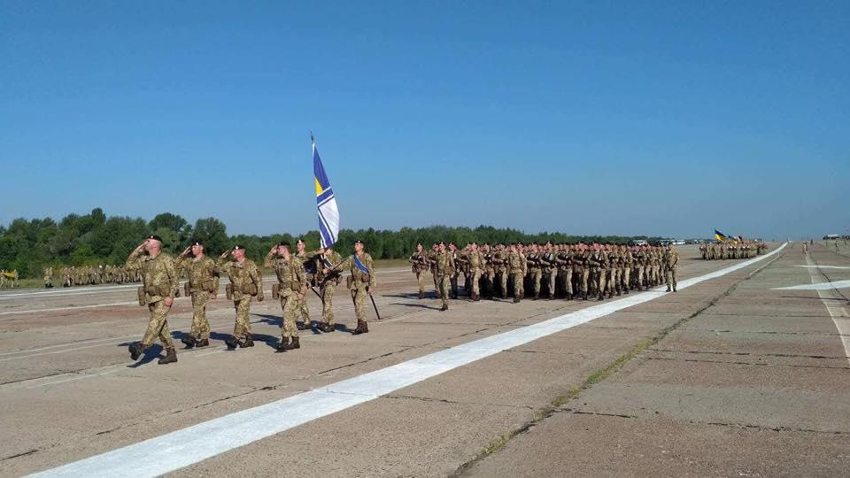 Репетиція параду до Дня Незалежності / фото facebook.com/navy.mil.gov.ua
