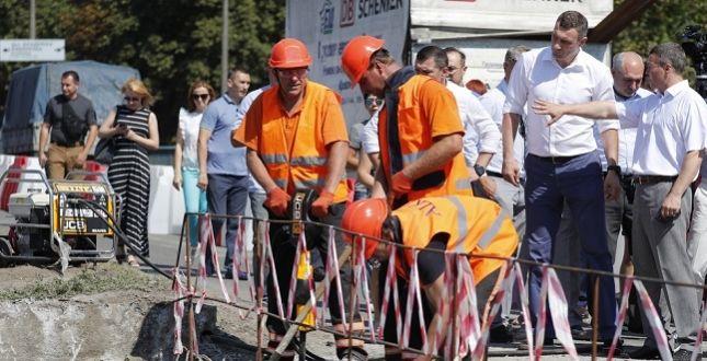 Віталій Кличко під час інспекції / фото kievcity.gov.ua