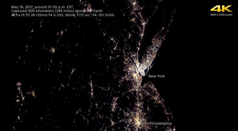 Камера прошла интенсивную подготовку перед полетом в космос  / Скриншот