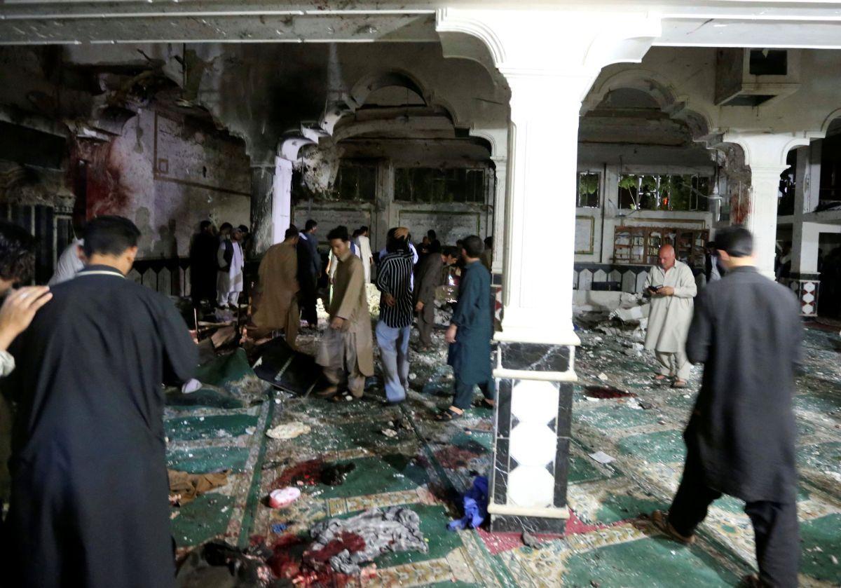 ВАфганістані стався вибух умечеті: десятки загиблих