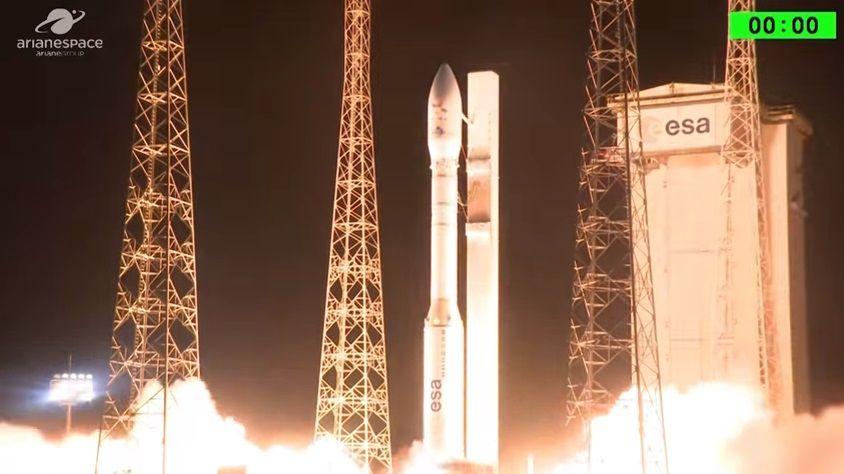 Это уже второй запуск по программе Vega в 2017-м году / Скриншот
