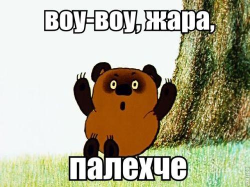 Українці скаржаться на спеку у соцмережах / фото із соцмереж