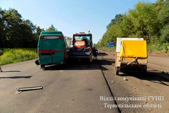 Загиблих немає, постраждали 5 осіб \ ГУ НП Тернопільської області